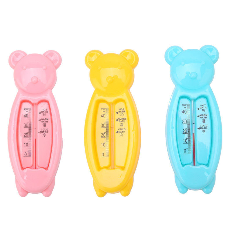 L\'ourson thermomètre de bain