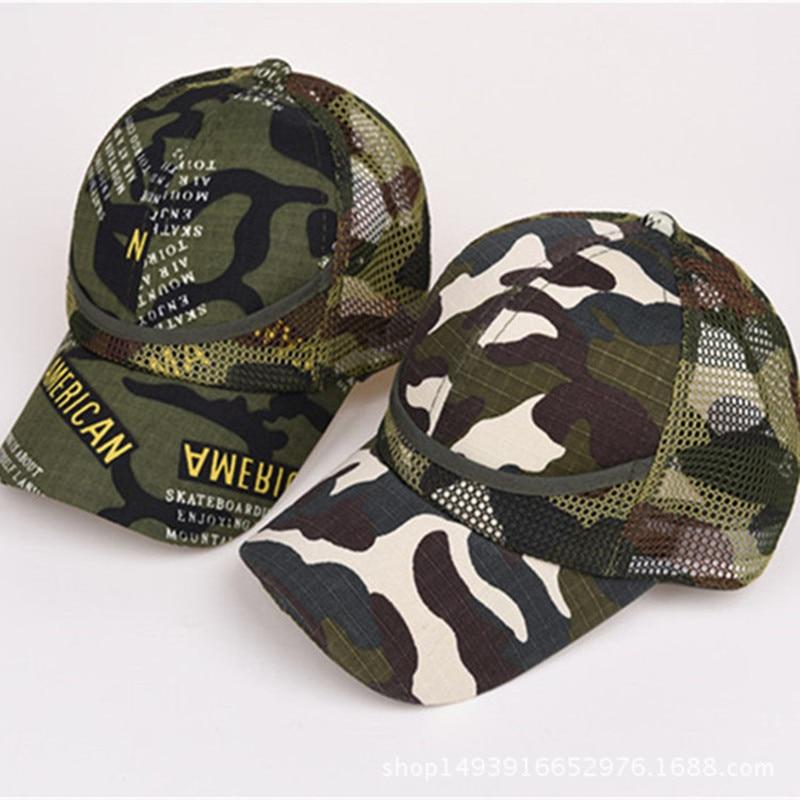 La casquette de camouflage