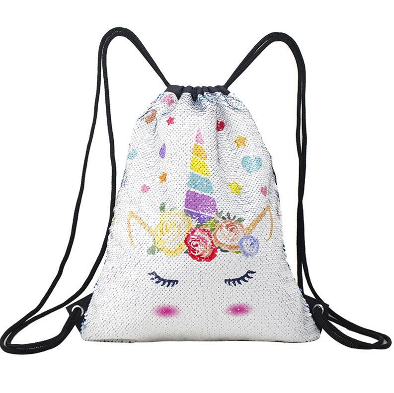 Le sac à dos Licorne à sequins réversibles
