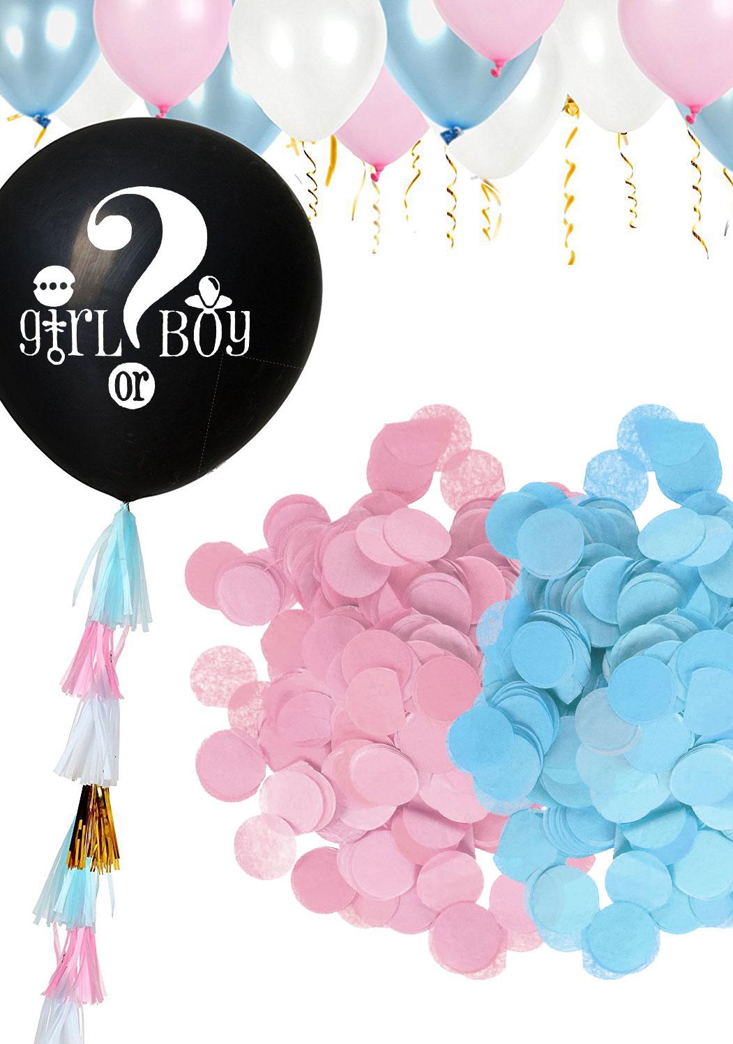 Les gros ballons confettis de votre Baby Shower