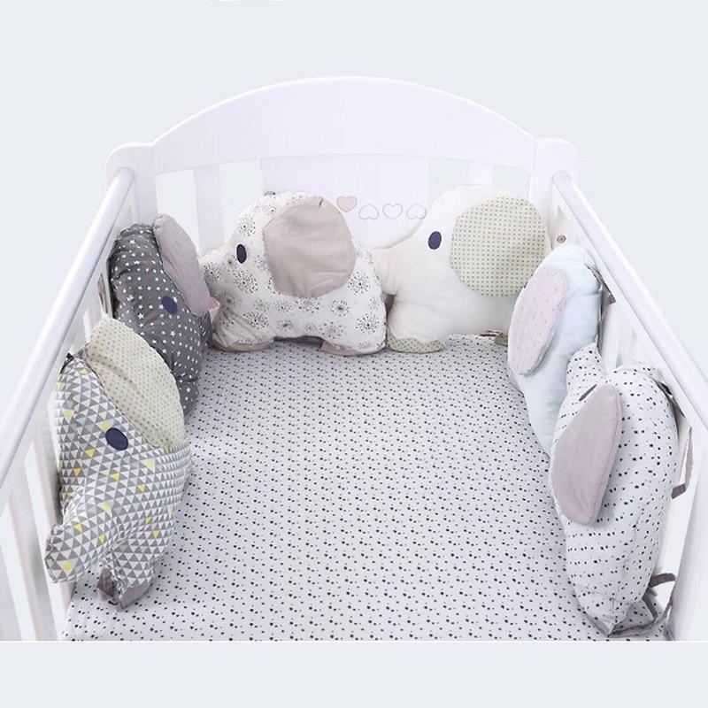 Le tour de lit la Ronde des Éléphants