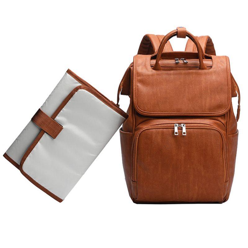 Le sac à langer, Leath Bab Bag