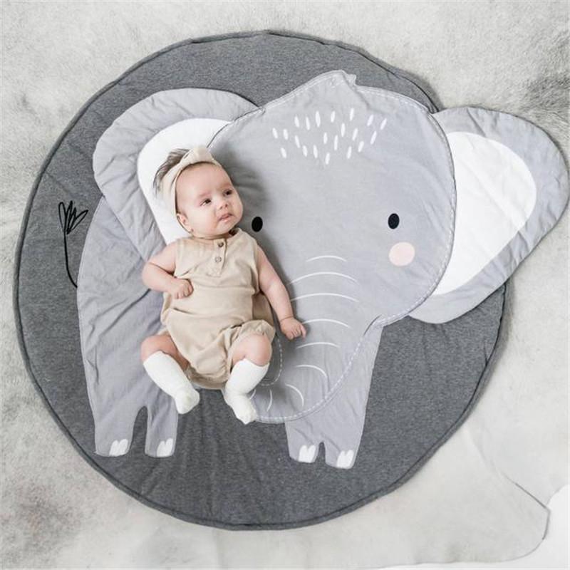 Tapis de chambre éléphant