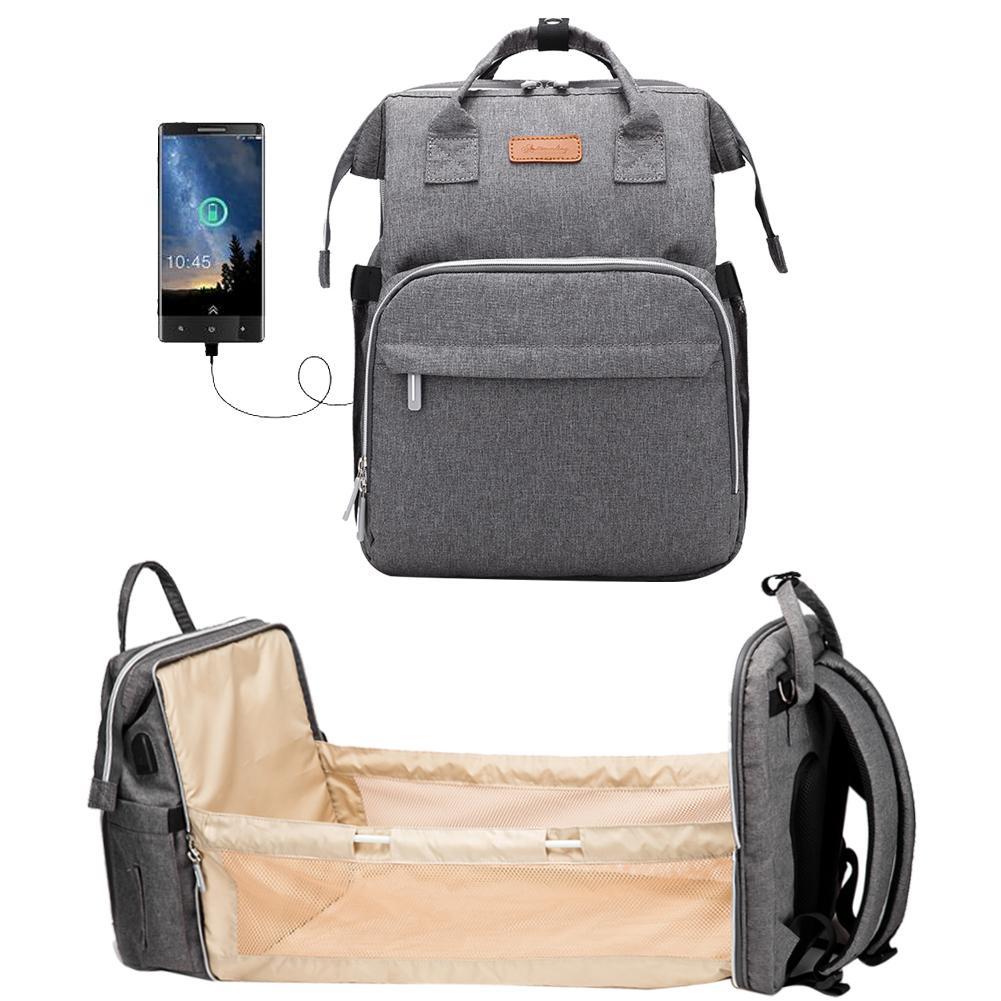 Le sac à langer avec lit intégré 3B (Bab Bed Bag)