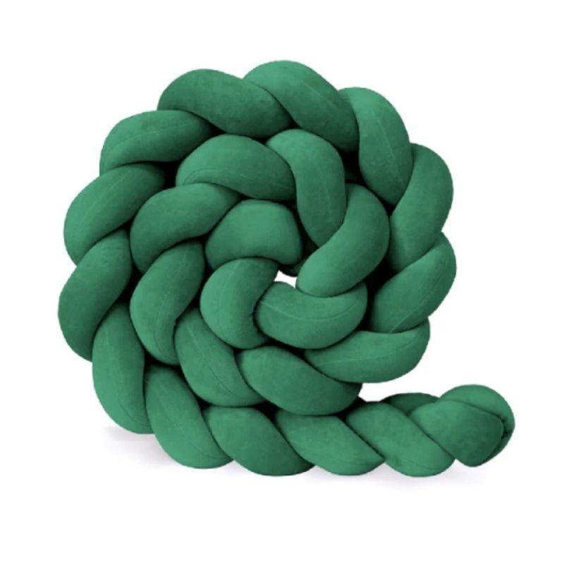 tour-de-lit-tresse-vert