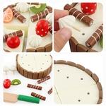 Enfants-jouets-g-teau-d-anniversaire-en-bois-magn-tique-g-teau-cuisine-d-but-jouets