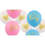 13-pcs-lot-b-b-douche-Ballons-drapeau-son-un-gar-on-c-est-une-fille