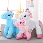 1-pc-50-60-90-cm-Kawaii-licorne-jouets-en-peluche-g-ant-peluche-cheval-jouets