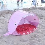 Forme-de-requin-tente-de-jeu-tente-de-plage-protection-UV-vitesse-ouverte-b-b-abri