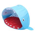 Requin-forme-b-b-plage-tente-balle-fosse-pliante-ext-rieur-jouer-maison-auvent-Tipi-uv
