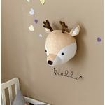 3D-Animal-t-te-montage-mural-Kawaii-peluche-l-phant-ours-cerf-tenture-murale-jouets-enfants