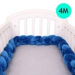 4M-b-b-tour-de-lit-tresse-noeud-oreiller-coussin-pare-chocs-pour-b-b-Bebe