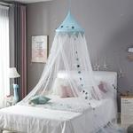 Moustiquaire-pour-chambre-de-b-b-rideau-de-lit-pour-enfant-auvent-rond-filet-de-lit