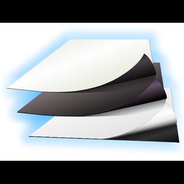 Echantillons de feuille magnétique
