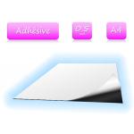 Feuille magnétique adhésive - format A4 - ép. 0.5mm