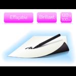 Feuille magnétique effaçable - blanc brillant - largeur 120cm - vendu au mètre