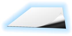 Feuille magnétique adhésive