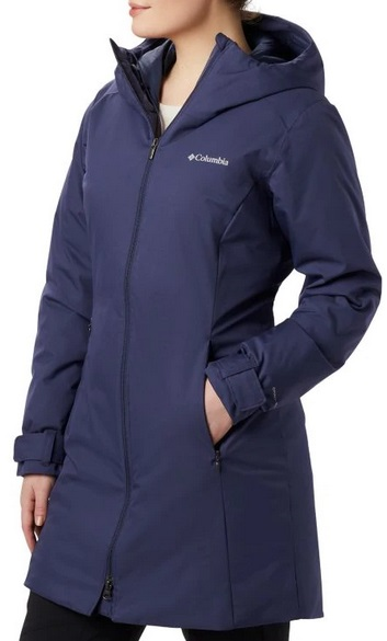 Columbia Autumn Rise Mid Jacket - Nocturnal