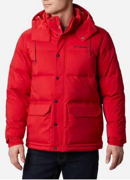 Columbia Rockfall Down Jacket - Mountain Red