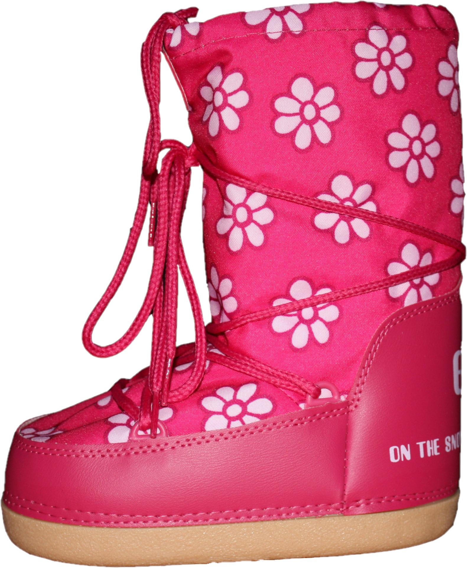 Après-ski Flower Boot