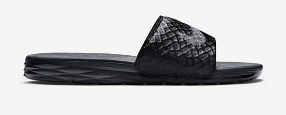 Nike Benassi Solarsoft Noir/Anthracite