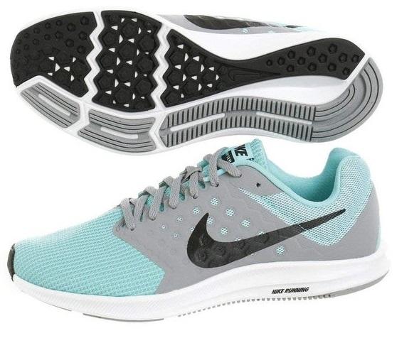 Femme Downshifter Stealthvertblancnoir Nike Nike 7 wX8n0OPk