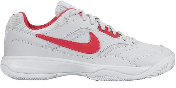 Nike Court Lite Femme Blanc/Rouge sirene