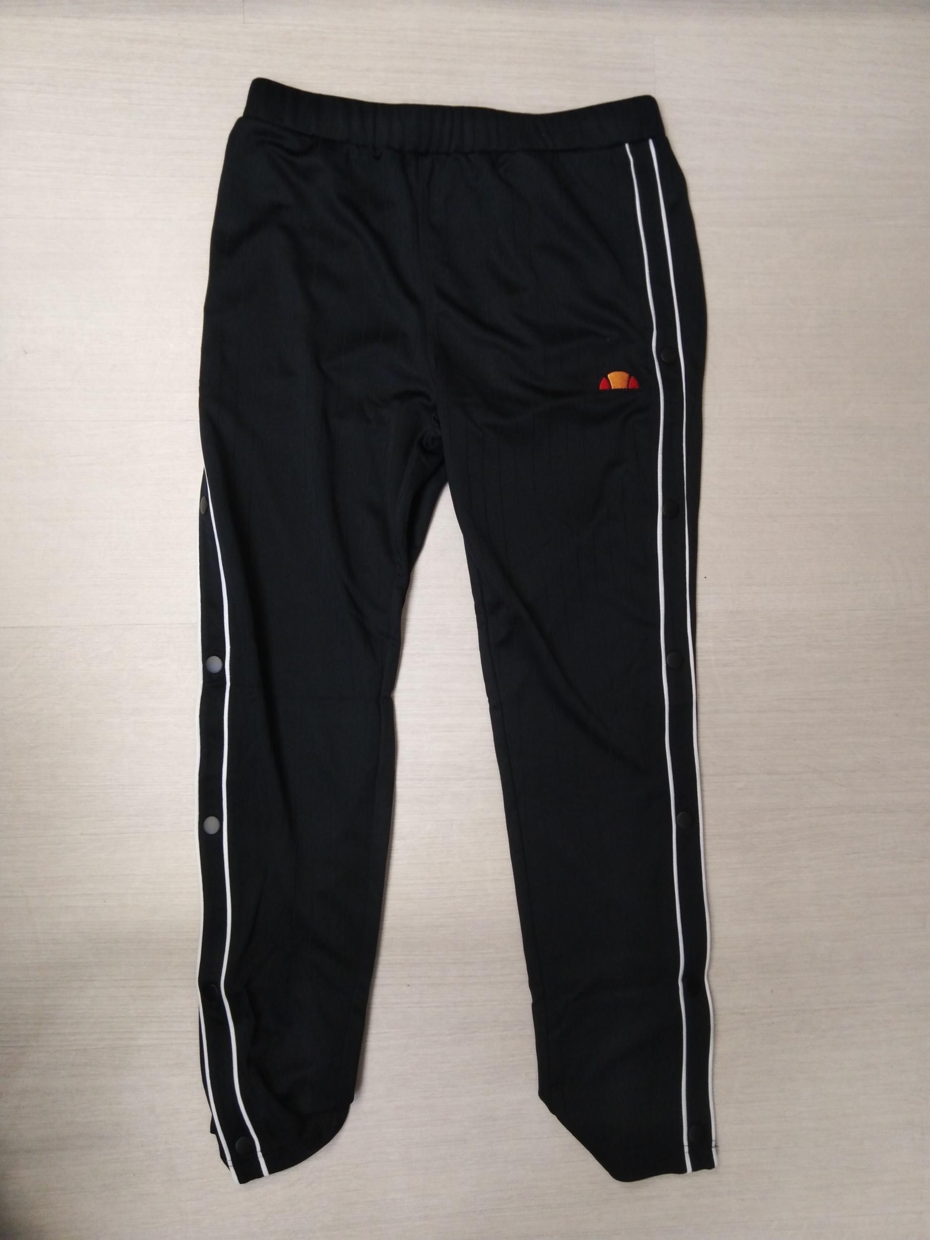 Ellesse - Pantalon Track Forato - Black