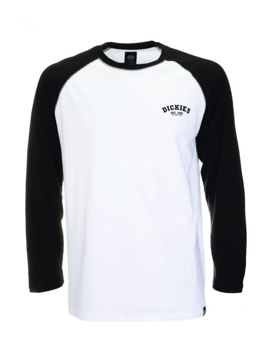 Baseball Long Sleeve T-shirt Black 1