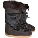 Boot fourrure Marron 2