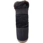 Boot fourrure Marron Dos