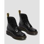 Dr Martens 1460 Pascal Black Zebra Gloss Emboss 26716001  3