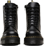 Dr Marten Jadon Plateforme Polished Black Smooth 15265001 5