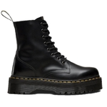 Dr Marten Jadon Plateforme Polished Black Smooth 15265001
