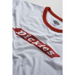 Dickies Bakerton Regular Ringer T-shirt Fiery Red 2