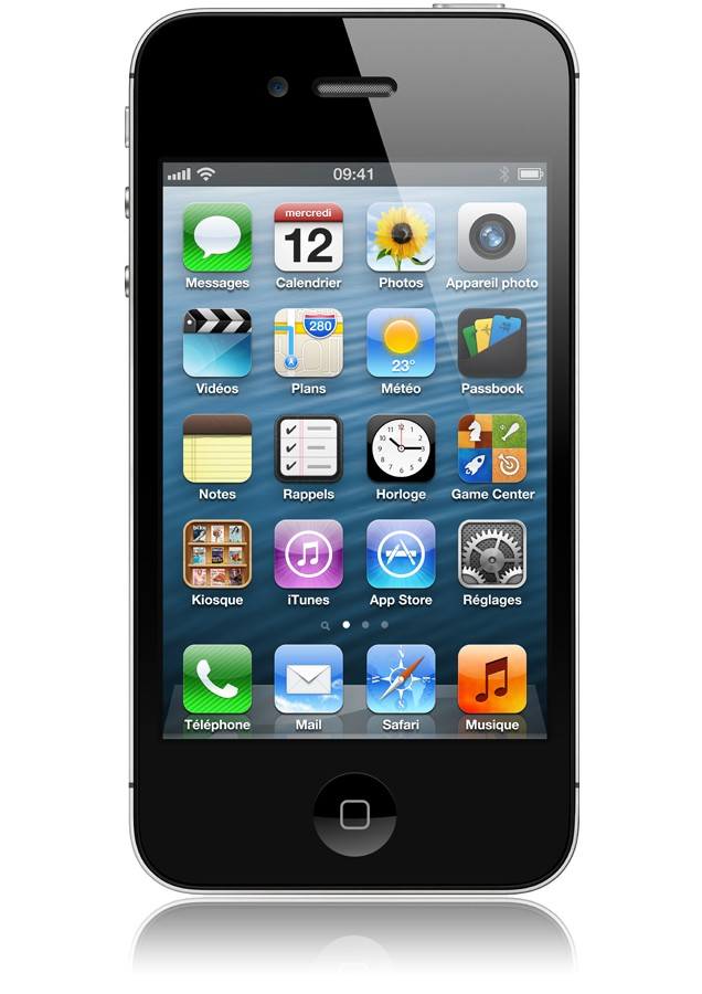 IPHONE 4S 16 GO Black