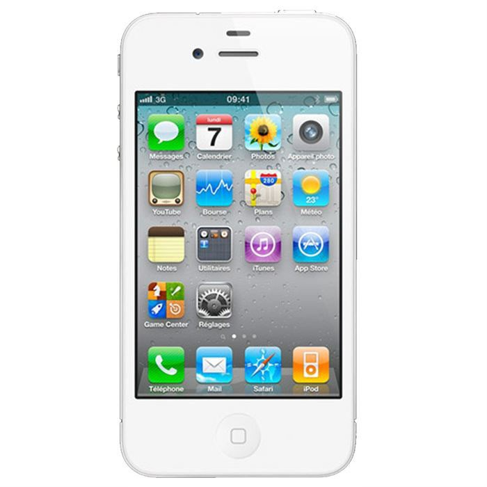 IPHONE 4S 16 GO WHITE