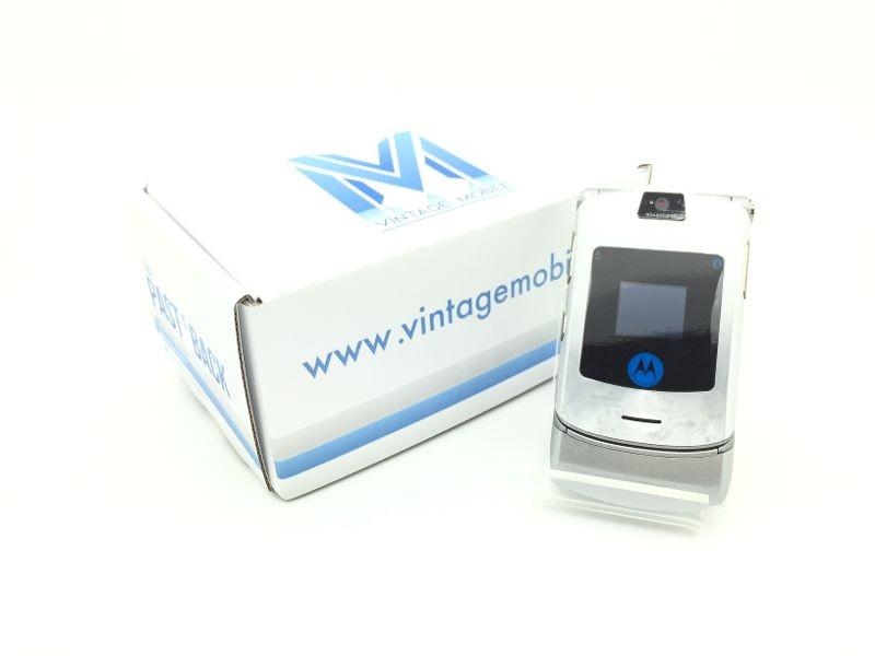Motorola RAZR V3i Silver