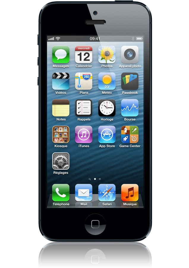 Apple iPhone 5 16 Go Black