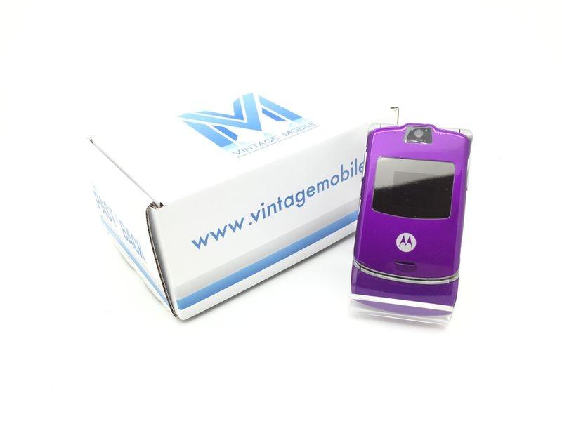 Motorola V3 Purple