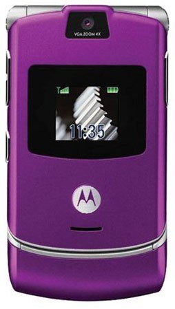 Motorola V3 Purple