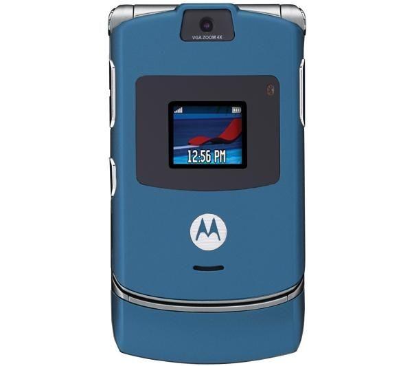 Motorola V3 Blue