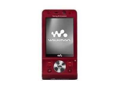 Sony Ericsson w910i Red
