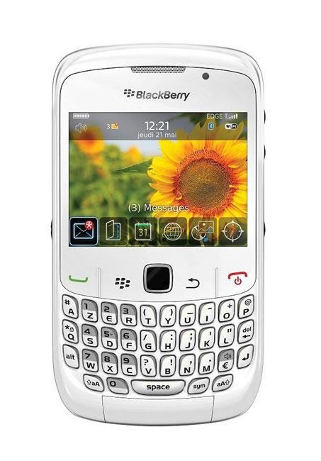 BLACKBERRY CURVE 9300 White