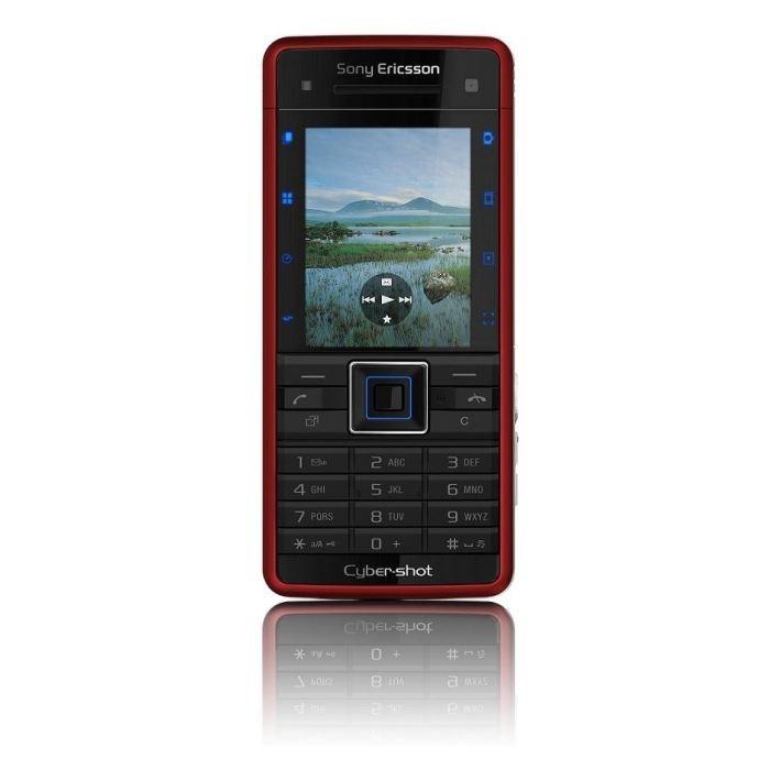 Sony Ericsson C902i Red