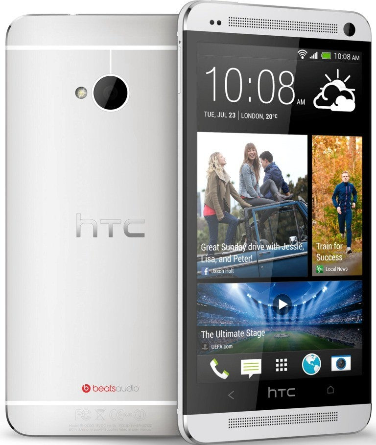 HTC ONE M7 Silver