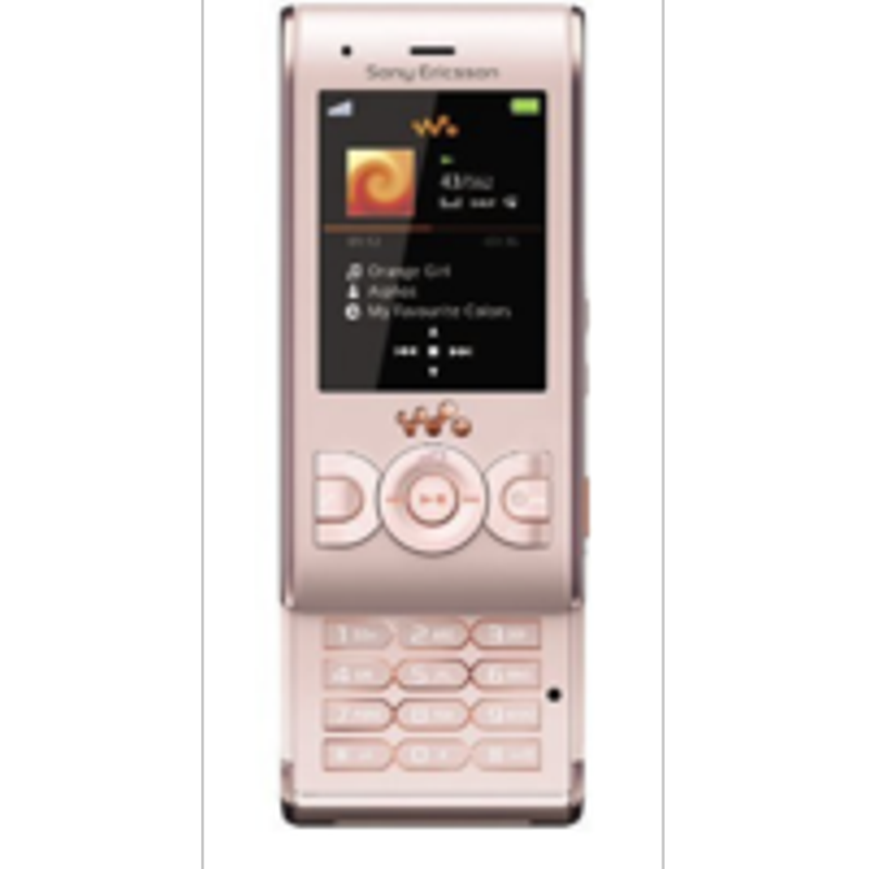 Sony ericsson W595 Pink