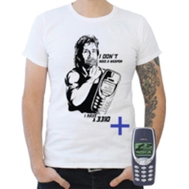 Pack Tee-Shirt Chuck Norris + Nokia 3310