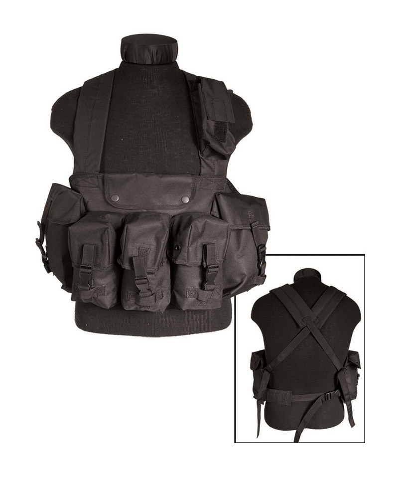 CHEST RIG 6 POCHES AIRSOFT