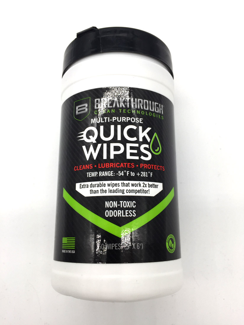 LINGETTES NETTOYAGE ARMES QUICK WIPES